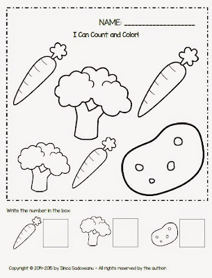 Grumpy Dumpling: Fruit and Vegetables Worksheets {FREEBIE}