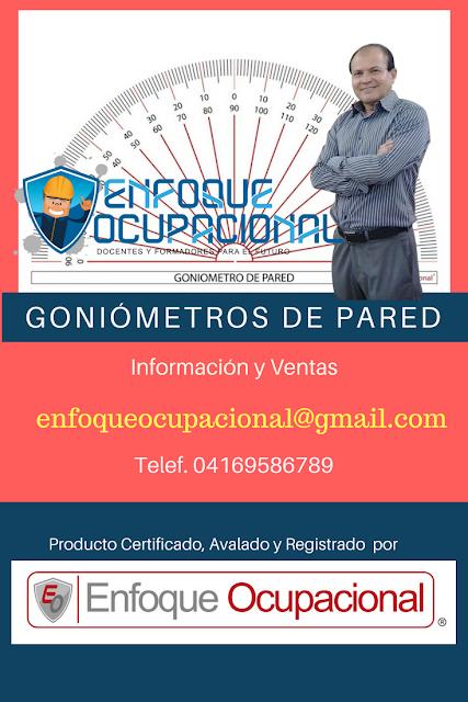 Goniometros de Pared, Venta, distribucion