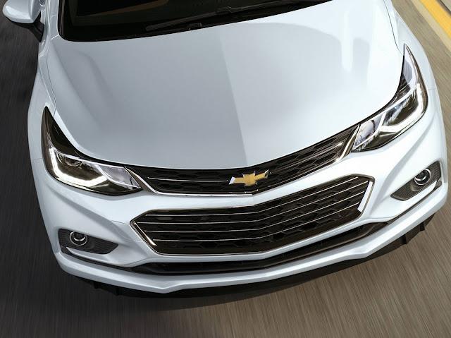 Novo Chevrolet Cruze 2017 - frente