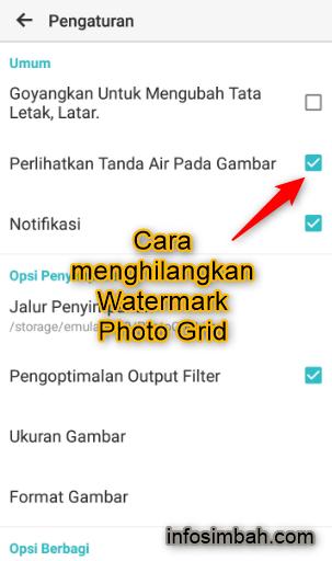 Cara Menghilangkan Watermark Photo Grid