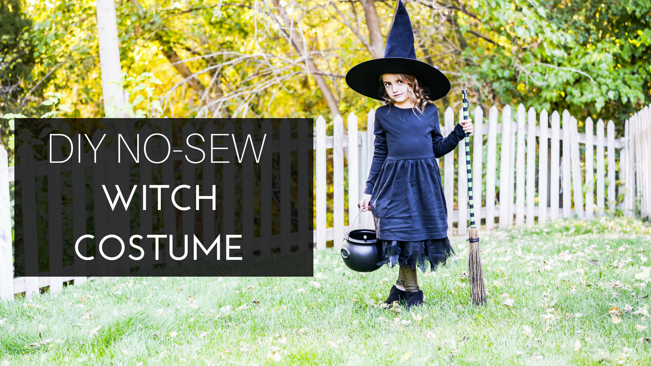 Do It Yourself Divas Diy No Sew Witch Costume