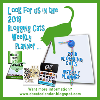 2018 Blogging Cats Weekly Planner