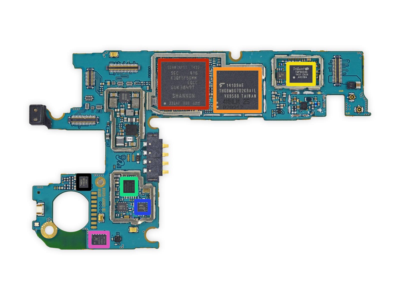 schematic diagrams samsung galaxy s5 sm g900f [ 1600 x 1200 Pixel ]