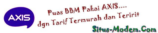 Daftar Harga Paket Blackberry Axis Terlengkap dan Terbaru