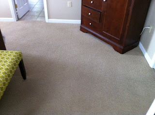 An image of the carpet inside a room
