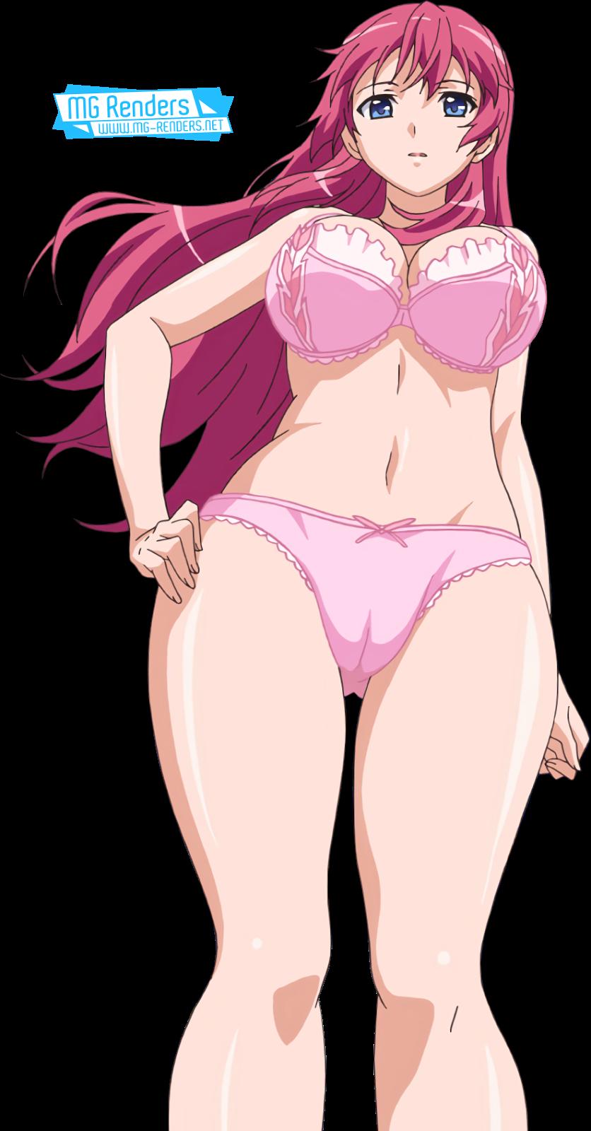 Tags: Anime, Render,  Maki-chan to Nau,  Pantsu,  Sanjou Maki,  PNG, Image, Picture