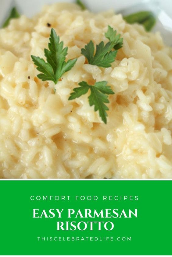 White Wine and Parmesan Risotto