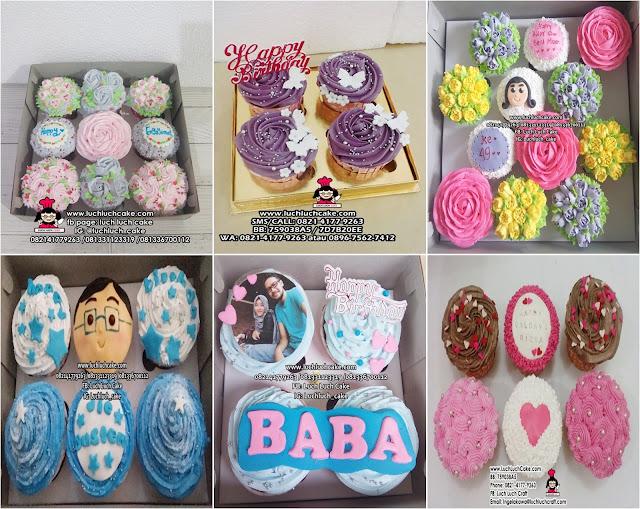 Cupcake hias buttercream