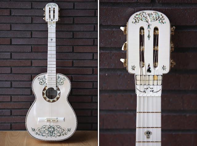 Cordoba's Pixar Coco Ernesto de la Cruz replica guitar