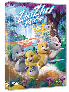 Zhu Zhu Pets: Quest for Zhu DVD Cover