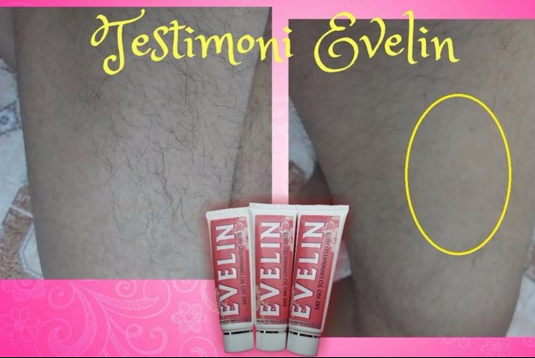 evelin hair removal cream segar
