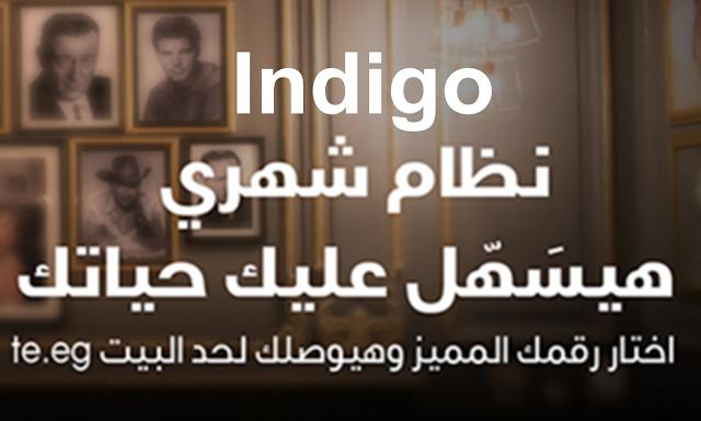 تعرف علي كافة تفاصيل و باقات نظام إنديجو Indigo نظام الفاتورة الجديد المقدم من شبكة وي we المصرية للإتصالات .