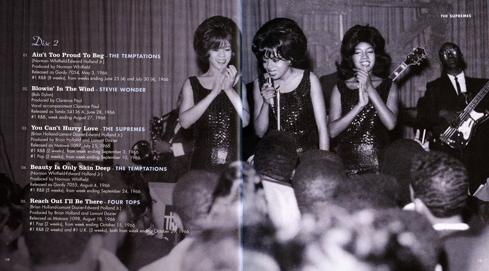 BENTLEYFUNK 2018: Motown, The Complete No  1's (10CD Box Set) - 2008