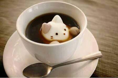 kopikat, coffee arts, coffee cat
