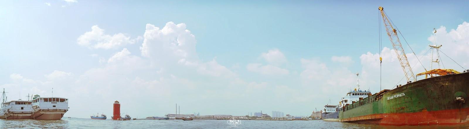 Sekilas Pesona di Pelabuhan Sunda Kelapa