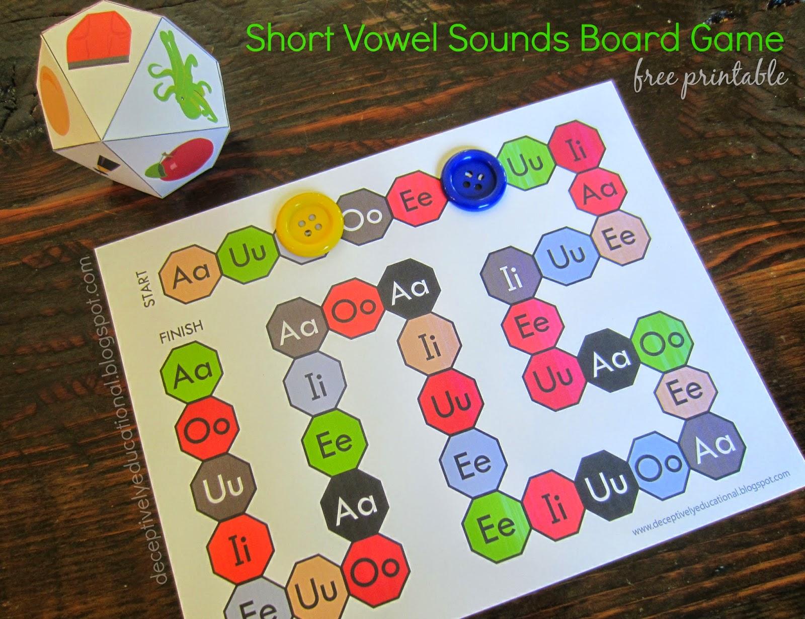 Relentlessly Fun Deceptively Educational Short Vowel