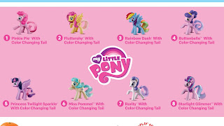 MLP McDonalds 2016 Happy Meal Toys