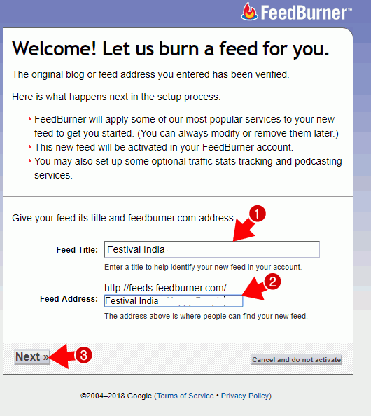 Feedburner क्या है FeedBurner Account कैसे बनाये