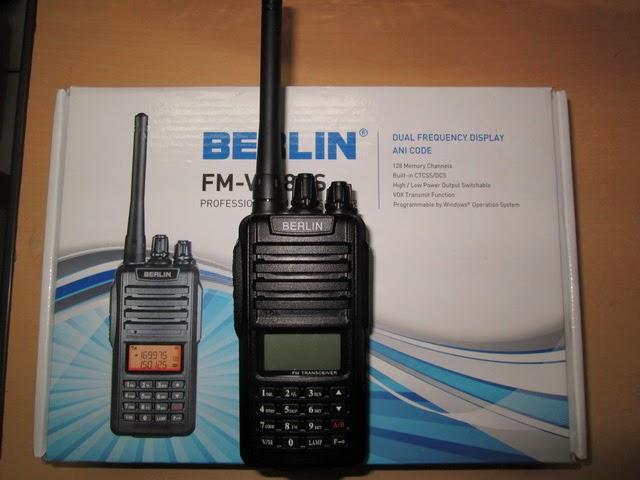 HT Handy Talky Berlin FM-V818DS Seken