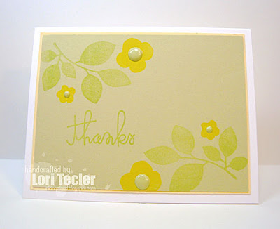 Botanical Thanks card-designed by Lori Tecler/Inking Aloud-stamps from Paper Smooches