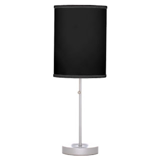 African American home decor accent lamp