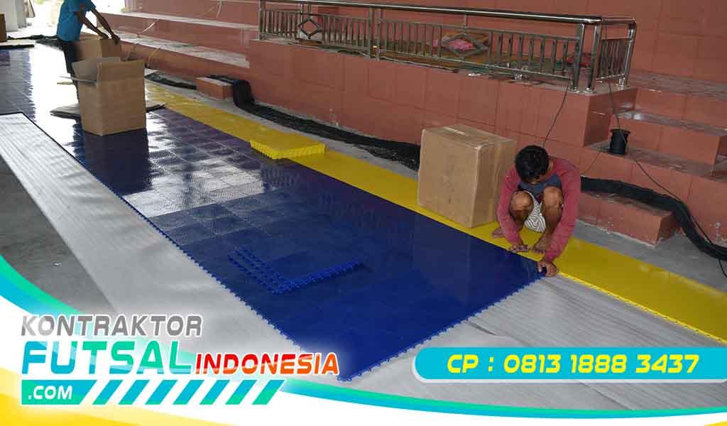 Perawatan Mudah Lantai Futsal