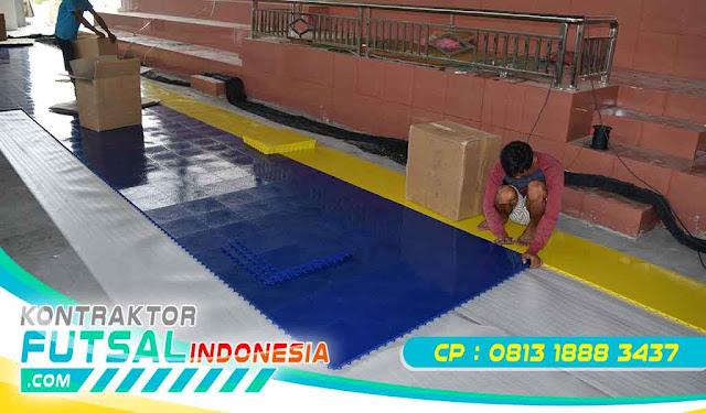Lantai Polypropylene Futsal