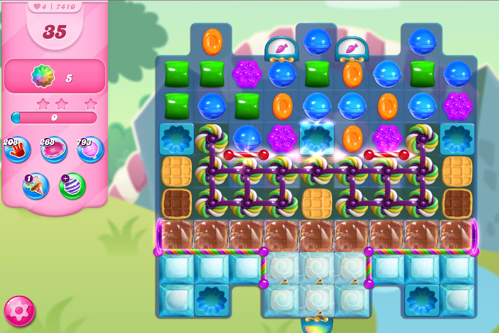 Candy Crush Saga level 741