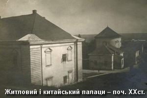 Житловий і китайський палаци замку на поч. XXст.