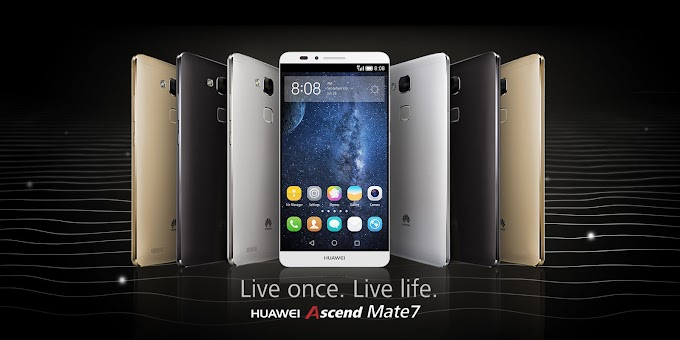 Huawei Ascend Mate7 officially announced with metal body, 6-inch display and 4100mAh battery