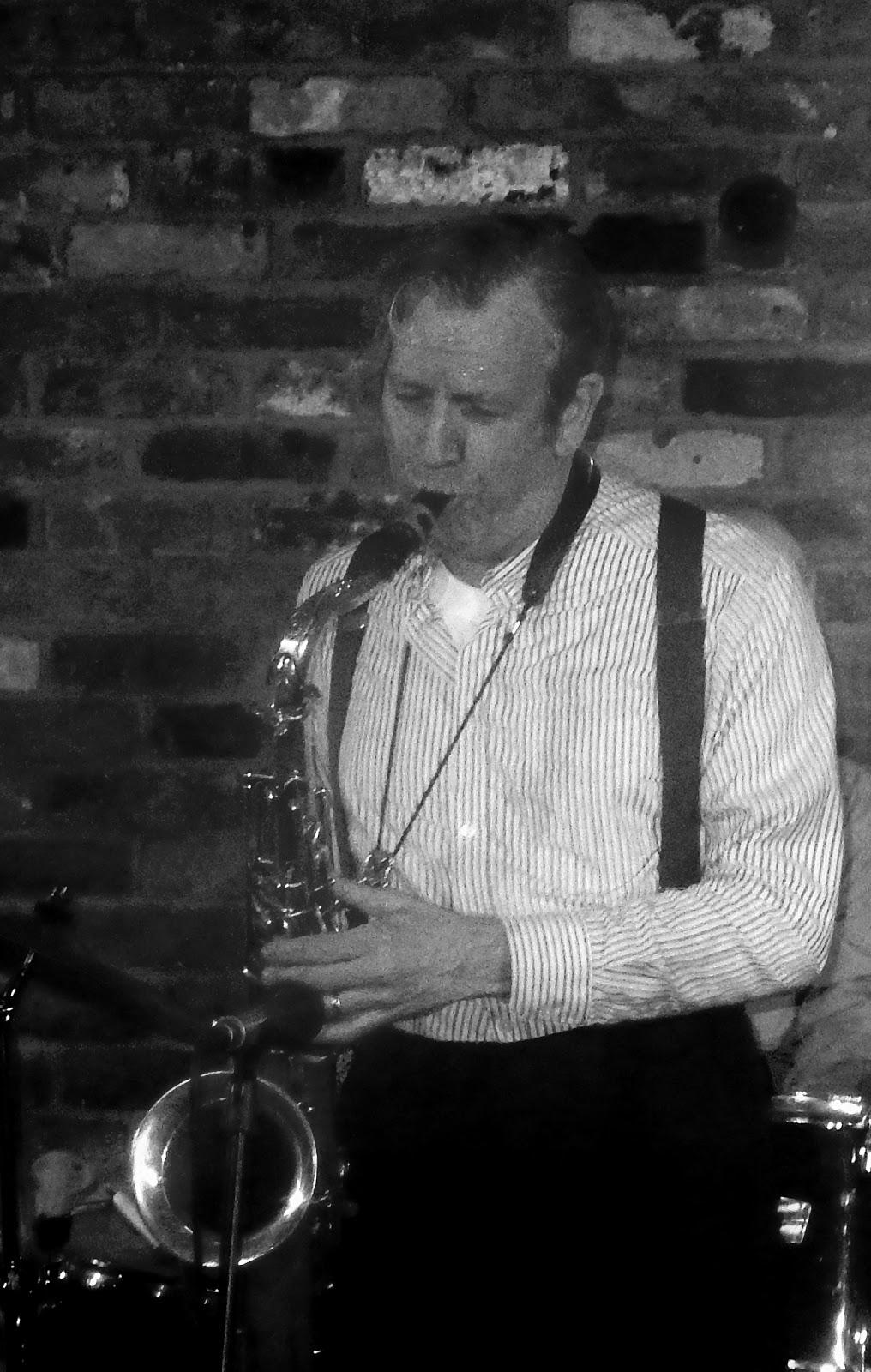 bebop spoken here: Martin Guy Band w  Sara Dowling @ Spice