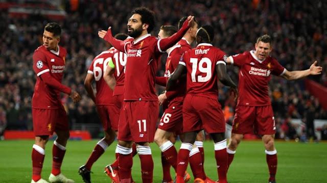 Liverpool Kembali Ke Puncak klasemen