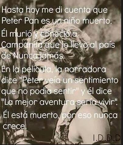 Disney Words Peter Pan