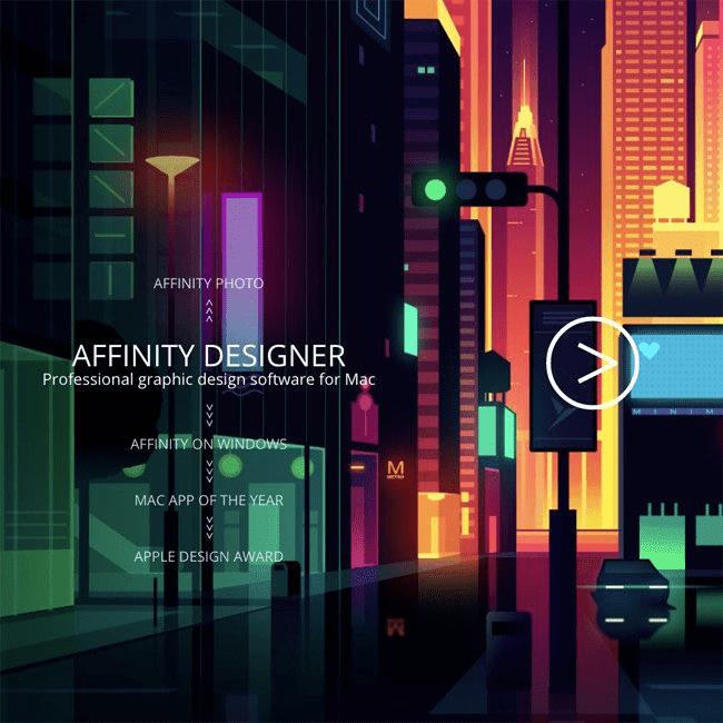 Review ulasan lengkap Affinity Designer - Affinity Screenshoot