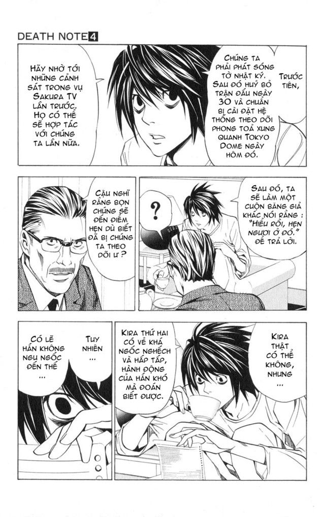 Death Note chapter 028 trang 7