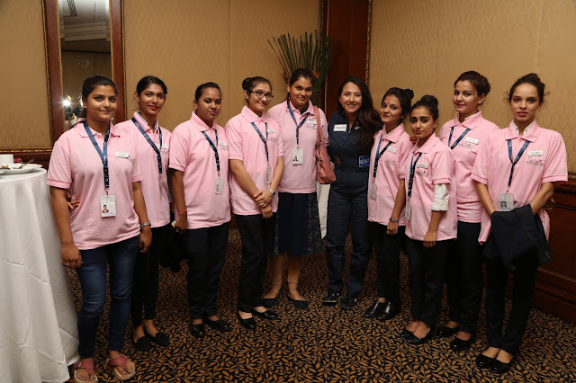 Women in Aviation International (India Chapter) along with Shaesta Waiz the Afghani American Female Pilot Seek to Inspire Young Women in India through STEM