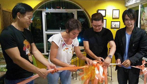 Kyle Jocson Bacolod art teacher art exhibit