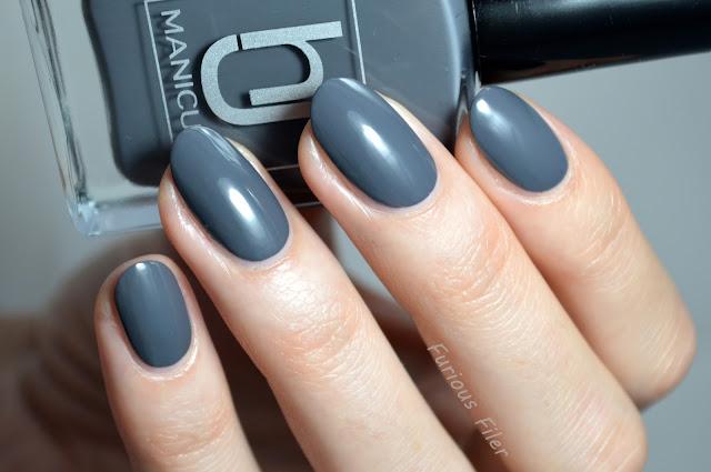 subzero hj manicure grey creme swatch