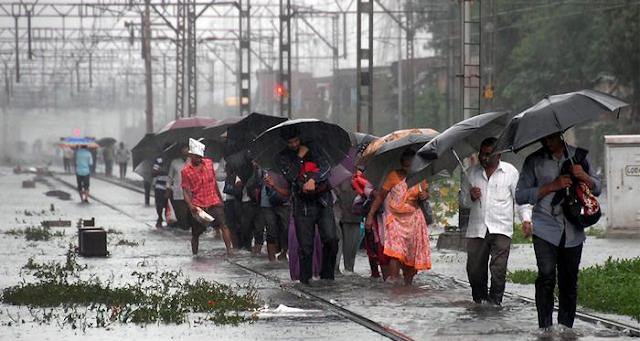 मप्र के 4 संभाग, 19 जिलों में भारी बारिश, अलर्ट जारी | MP NEWS