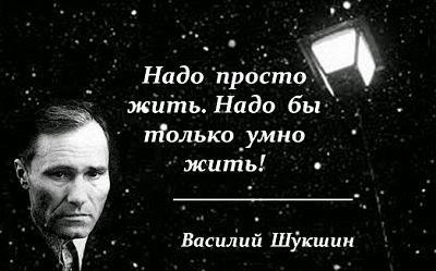 Цитата Василия Шукшина