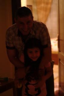 Hakkı Özer ve kızı Yeliz Özer