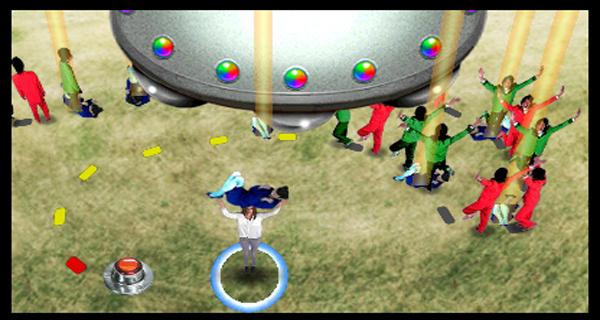 Tokyo Crash Mobs Rolling Savannah UFO Nintendo