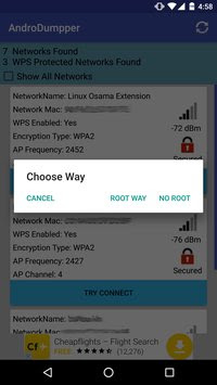 AndroDumpper APK Connect WIFI
