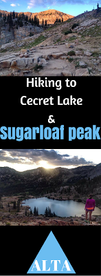 Hiking to Cecret Lake & Sugarloaf Peak