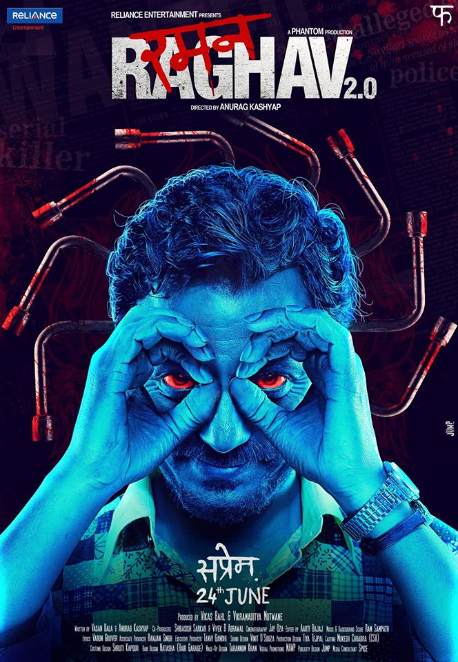 full cast and crew of bollywood movie Raman Raghav 2.0 2016 wiki, Nawazuddin Siddiqui, Vicky Kaushal story, release date, Actress name poster, trailer, Photos, Wallapper