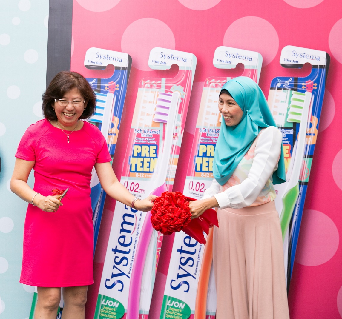 Systema Launches Pre Teen Toothbrush Also Mommy Power Clean Regular