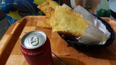 pastel frito na hora itapema
