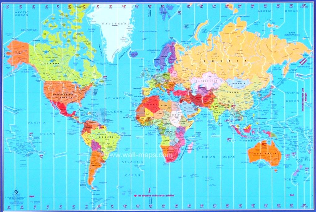 tidssoner europa kart Verdenskart Tidssone Bilder tidssoner europa kart