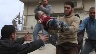 Serangan Tentara Rezim Syiah Suriah Menghantam Pasar, 12 Sipil Meninggal Puluhan Luka-luka