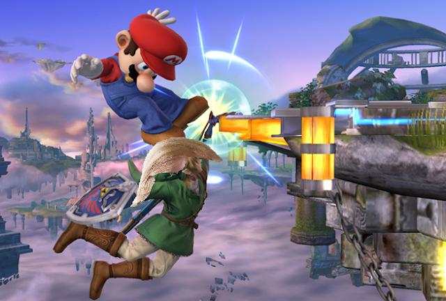 Link Donald Trump ledge Super Smash Bros. For Wii U Mario hair toupee